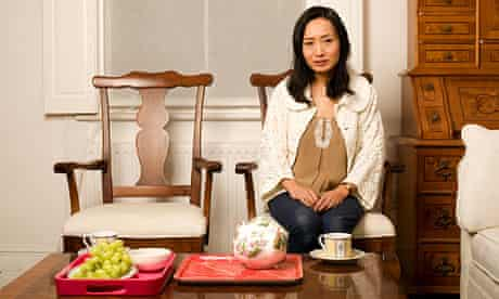 Diane Wei Liang at home in London