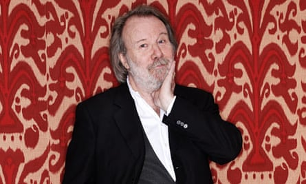 Benny Andersson at the Covent Garden Hotel