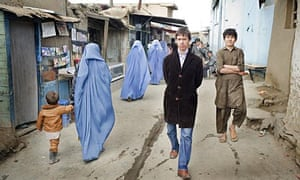 Rory Stewart in Kabul