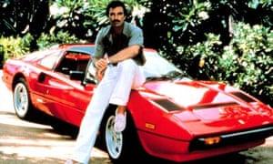 Magnum P.I. and his Ferrari