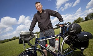 Mike Carter with bicycle