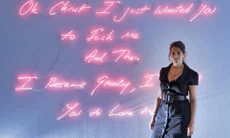 Tracey Emin at The White Cube Gallery