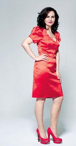 Caroline Flint fashion: Caroline Flint wearing high street fashion