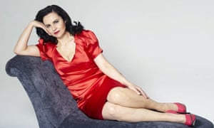 Caroline Flint wearing high street fashion