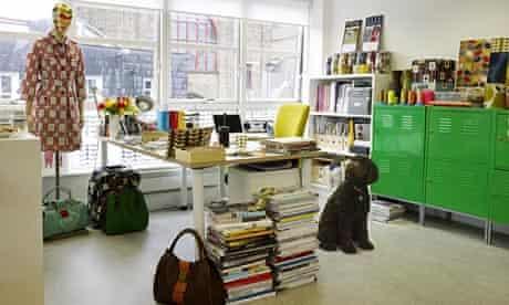 Orla Kiely's office