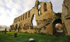 Ruins of Jervaulx Abbey