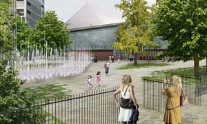 Rem Koolhaas's Commonwealth Institute redevelopment