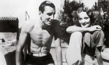 Fred Perry and Marlene Dietrich