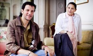 Ali Abu Awwad and Robi Damelin