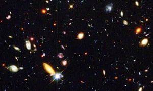 Image of galaxies taken using Hubble Space Telescope