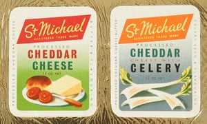 1950s St Michael processed cheese