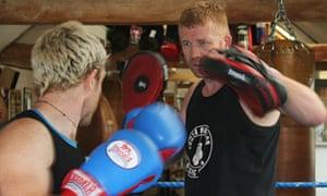 Tom Fordyce boxing