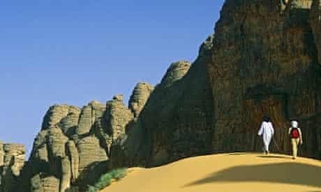 Tassili N'Ajjer near Djanet, Algeria