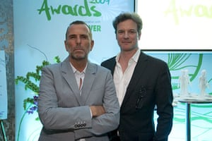 Ethical Awards: Allan Jenkins and Colin Firth