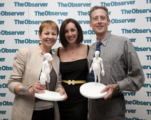 Ethical Awards:  Lucy Siegle, Caroline Lucas and Peter Tatchell