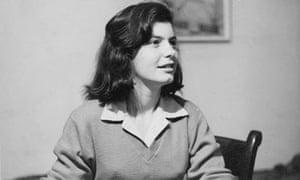 Lynn Barber as a teenager
