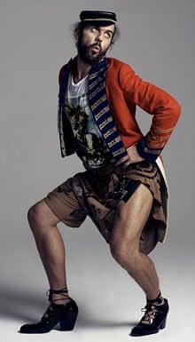 Andreas Kronthaler in Vivienne Westwood menswear
