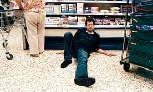 William Leith on supermarket floor