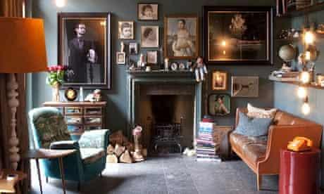 Sam Roddick's sitting room
