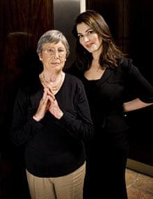 Nigella Lawson and Anna Del Conte