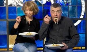Helen Worth and Simon Hopkinson