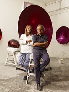 Ruth Rogers and Anish Kapoor
