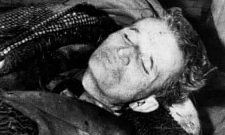 Nicolae Ceausescu executed
