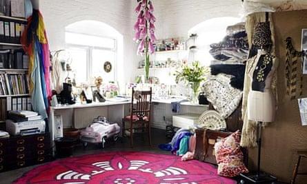 Alice Temperley's London studio