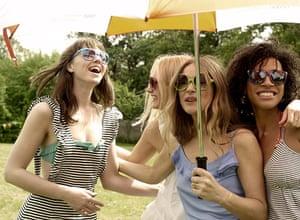 sports day fashion: Under our umbrella