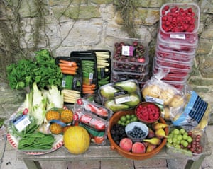 Food waste: fresh produce from the bins of Waitrose