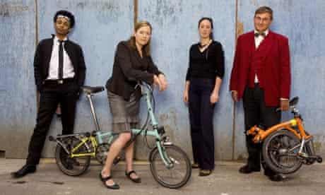 Southwark council Brompton riders