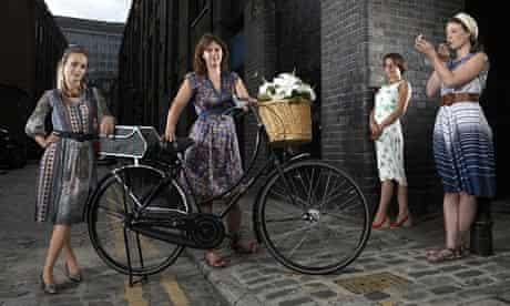 Fashionista cyclists