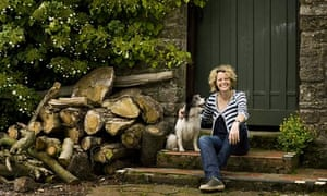 Kate Humble at home in Tintern