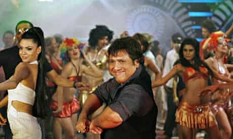 Indian bollywood actor Govinda performs