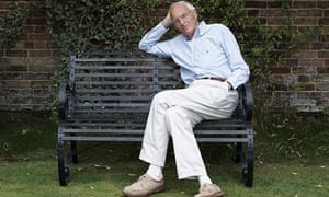 Michael Frayn at home