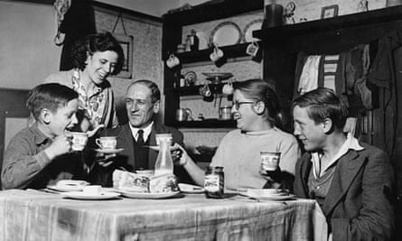 Family At Table, 1954