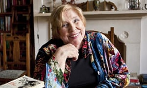Fay Weldon at home in Dorset