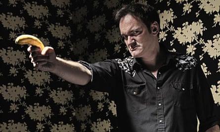 Quentin Tarantino and banana