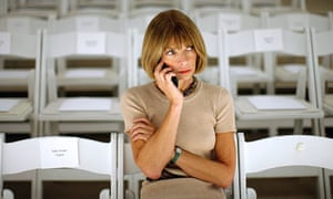 Anna Wintour at New York Fashion Week