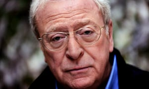 Michael Caine at the Peninsula Hotel