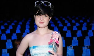 Kelly Osbourne at New York Fashion Week