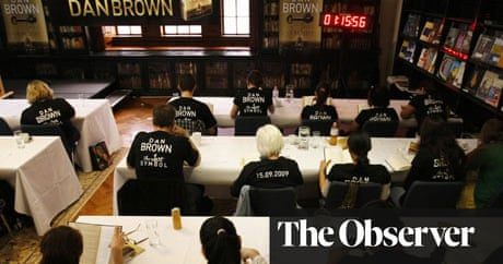 The Lost Symbol By Dan Brown Book Review Books The Guardian