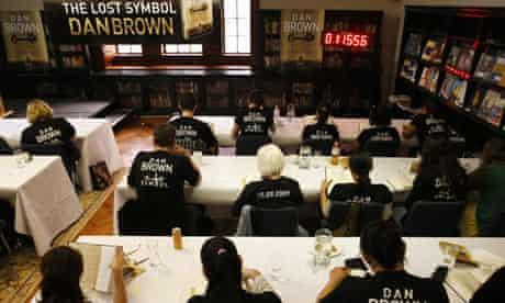 Dan Brown's The Lost Symbol launch event, Sydney