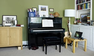 Gareth Malone's living room