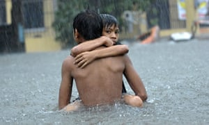 Floods in Manila brought by Tropical Storm Ketsana