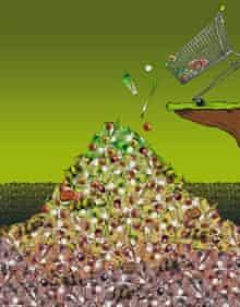 Food waste illustration