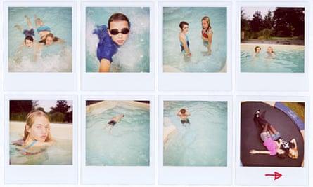 Harry Borden's polaroids