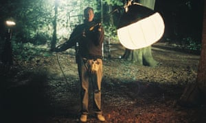 A detail from Rosalind Nashashibi's film Jack Straw's Castle (2009).
