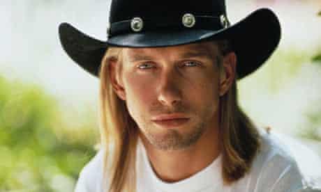 Actor Stephen Baldwin in Cowboy Hat