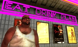 A scence from Grand Theft Auto: Liberty City Stories for Technology (2005).